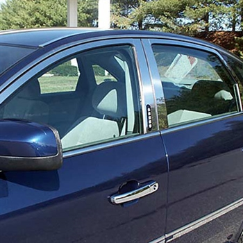 Ford Taurus Chrome Window Trim Package w/ pillar posts, 2008-2009