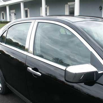 Lincoln Zephyr Chrome Window Trim Package, 2006