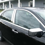Lincoln MKZ Chrome Window Trim Package (no pillars), 2007, 2008, 2009, 2010, 2011, 2012