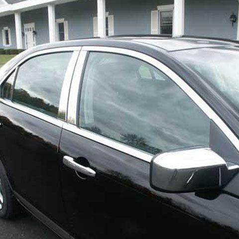 Lincoln Mkz Chrome Window Trim Package No Pillars 2007