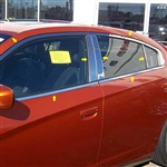 Dodge Charger Chrome Window Trim Package, 2011, 2012, 2013, 2014