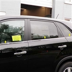 Kia Sorento Chrome Window Sill Trim, 2011, 2012, 2013, 2014