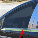 Toyota Prius C Chrome Window Sill Trim, 2012, 2013, 2014, 2015, 2016
