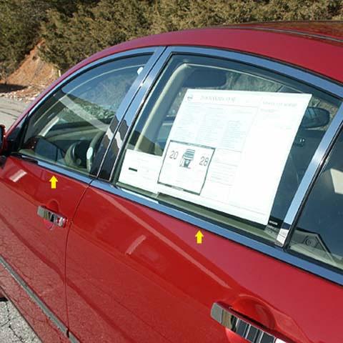 Nissan Maxima Chrome Window Sill Trim 2004 2005 2006