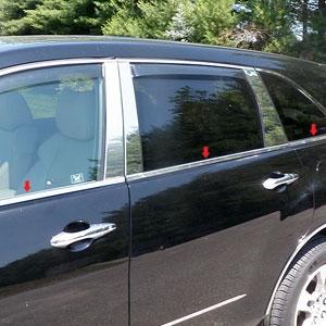 Acura Mdx Chrome Window Sill Trim 2007 2008 2009 2010