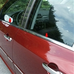 Mazda 3 Hatchback Chrome Window Sill Package, 4pc., 2004 - 2009