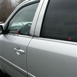 Honda Pilot Chrome Window Sill Trim, 2009, 2010, 2011, 2012, 2013, 2014