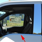 Ford Super Duty Regular Cab Chrome Window Sill Trim, 2017