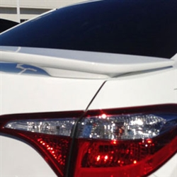 Toyota Corolla 2 Post Painted Rear Spoiler, 2014, 2015, 2016