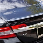 Jaguar XF Lip Mount Painted Rear Spoiler, 2009, 2010, 2011, 2012, 2013, 2014