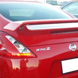 Nissan 370Z Coupe 'Racing Style' Painted Rear Spoiler, 2009, 2010, 2011, 2012, 2013, 2014, 2015