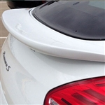 Porsche Panamera Flush Mount Painted Rear Spoiler, 2014, 2015
