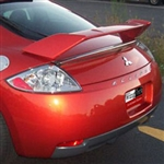 Mitsubishi Eclipse Painted Rear Spoiler (no Light), 2006, 2007, 2008, 2009, 2010, 2011, 2012