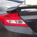 Honda Civic Coupe 2 Post Painted Rear Spoiler, 2012, 2013, 2014