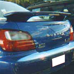 Subaru Impreza WRX Painted Rear Spoiler (with Light), 2002, 2003, 2004, 2004, 2005, 2006, 2007