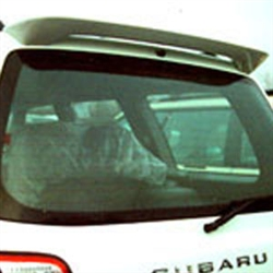 Subaru Forester Painted Rear Spoiler, 2003, 2004, 2005, 2006, 2007, 2008