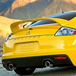 Mitsubishi Eclipse Painted Rear Spoiler (with light), 2006, 2007, 2008, 2009, 2010, 2011, 2012