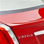 Lincoln MKS Lip Mount Painted Rear Spoiler, 2009, 2010, 2011, 2012