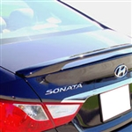 Hyundai Sonata 2 Post Painted Rear Spoiler, 2011, 2012, 2013, 2014
