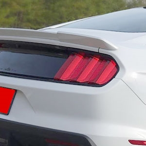 Ford Mustang Racing Style Painted Rear Spoiler, 2015, 2016