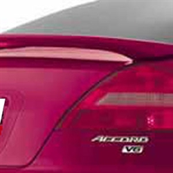 Honda Accord Coupe 2 Post Painted Rear Spoiler, 2003, 2004, 2005