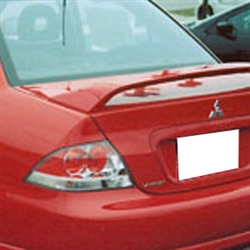 Mitsubishi Lancer Ralliart Painted Rear Spoiler, 2004, 2005, 2006, 2007