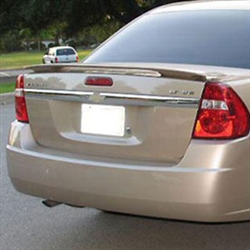 Chevrolet Malibu 2 Post Painted Rear Spoiler, 2004, 2005, 2006, 2007