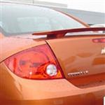 Chevrolet Cobalt Sedan 2 Post Painted Rear Spoiler, 2005, 2006, 2007, 2008, 2009, 2010