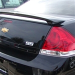 Chevrolet Impala SS Painted Rear Spoiler, 2006, 2007, 2008, 2009, 2010, 2011, 2012, 2013