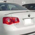 Volkswagen Jetta Painted Rear Spoiler, 2005.5, 2006, 2007, 2008, 2009, 2010