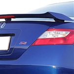 Honda Civic Coupe 3 Post Painted Rear Spoiler, 2007, 2008, 2009, 2010, 2011