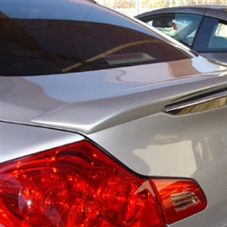 Infiniti G35 / G37 Sedan Painted Rear Lip Spoiler, 2007, 2008, 2009, 2010, 2011, 2012, 2013
