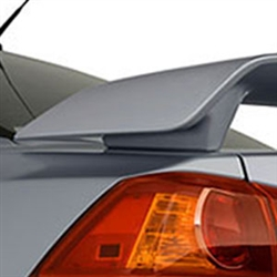 Mitsubishi Lancer '2 Post' Painted Rear Spoiler, 2008, 2009, 2010, 2011, 2012, 2013, 2014