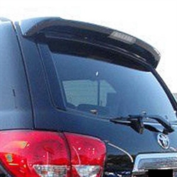 Toyota Sequoia Painted Rear Spoiler (with light), 2008, 2009, 2010, 2011, 2012, 2013, 2014, 2015, 2016