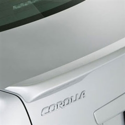 Toyota Corolla Lip Mount Painted Rear Spoiler, 2009, 2010