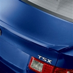 Acura TSX Rear Lip Spoiler, 2009, 2010, 2011, 2012, 2013, 2014