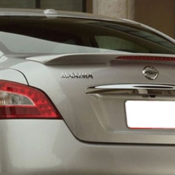 Nissan Maxima Painted Rear Spoiler with Light, 2009, 2010, 2011, 2012, 2013, 2014