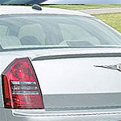 Chrysler 300 Lip Mount Painted Rear Spoiler, 2005, 2006, 2007