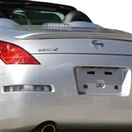 Nissan 350Z Roadster Painted Rear Spoiler, 2003, 2004, 2005, 2006, 2007, 2008, 2009