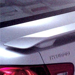 Hyundai Elantra Sedan 2 Post Painted Rear Spoiler, 2007, 2008, 2009, 2010
