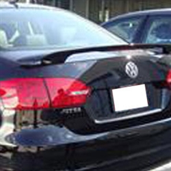 Volkswagen Jetta '2 Post' Painted Rear Spoiler (with light), 2011, 2012, 2013, 2014, 2015