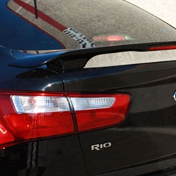 Kia Rio Sedan 2 Post Painted Rear Spoiler, 2012, 2013, 2014, 2015, 2016