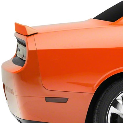 Dodge Challenger Lip Mount Painted Rear Spoiler, 2008, 2009, 2010, 2011, 2012, 2013, 2014, 2015