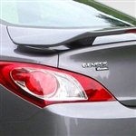 Hyundai Genesis Coupe 2 Post Painted Rear Spoiler, 2010, 2011, 2012, 2013, 2014, 2015, 2016
