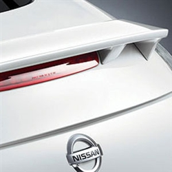 Nissan 370Z Coupe Painted Rear Spoiler, 2009, 2010, 2011, 2012, 2013, 2014, 2015