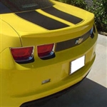 Chevrolet Camaro Lip Mount Painted Rear Spoiler, 2010, 2011, 2012, 2013