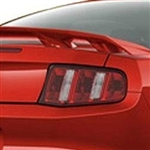 Ford Mustang 4 Post Painted Rear Spoiler, 2010, 2011, 2012, 2013, 2014