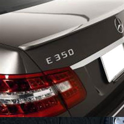 Mercedes E Class Sedan Painted Rear Spoiler, 2010, 2011, 2012, 2013, 2014, 2015, 2016