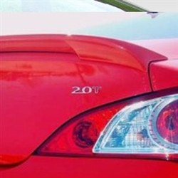 Hyundai Genesis Coupe Lip Mount Painted Rear Spoiler, 2010, 2011, 2012, 2013, 2014, 2015, 2016