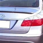 Hyundai Genesis Sedan Lip Mount Painted Rear Spoiler, 2009, 2010, 2011, 2012, 2013, 2014